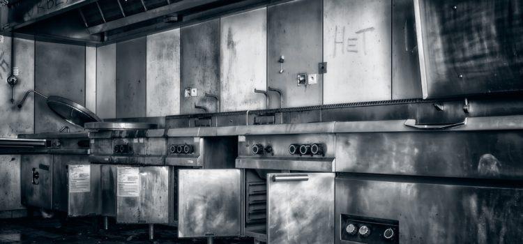 Küche geschlossen